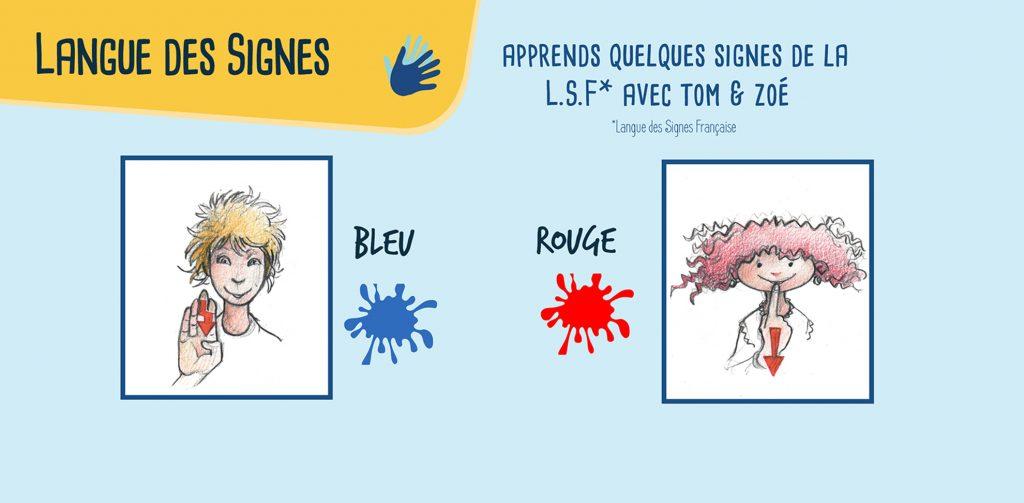 signes illustrés issus de la LSF picadelo