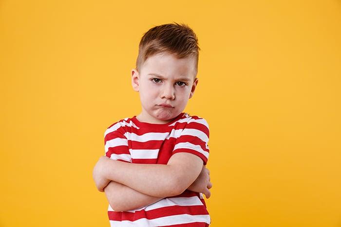 enfant frustré