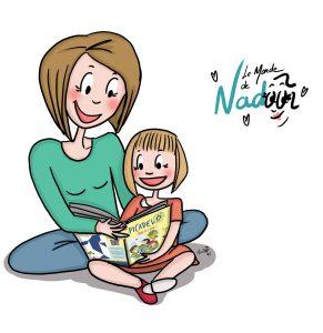 Le monde de Nadoo, illustratrice