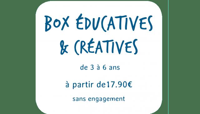 Box educatives et créatives picadelo de 3 à 6 ans