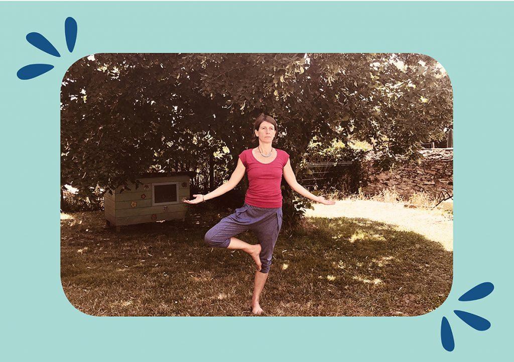 Lurence Gureinel, professeur de Yoga