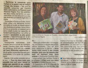 Artcle Presse Picadelo pour Ouest France