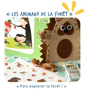 la box les animaux de la forêt