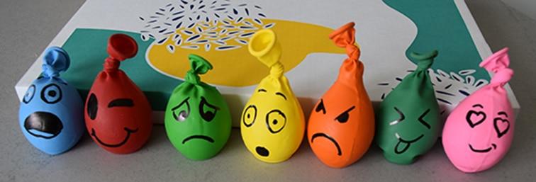 Petits personnages ballon émotions