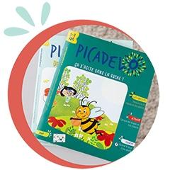 Grand magazine picadelo pour enfant dès 3 ans - Illustration, découverte du monde, apprendre en s'amusant