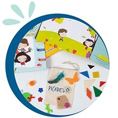 Box créative pour enfant Kit d'activité et matériel créatif