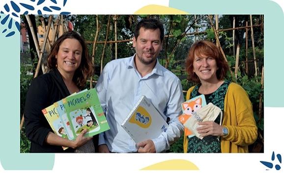 Les fondateurs des box pour enfant Picadelo - Parents et enseignants