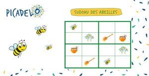 sudoku abeilles picadelo