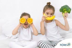 l'alimentation saine de l'enfant