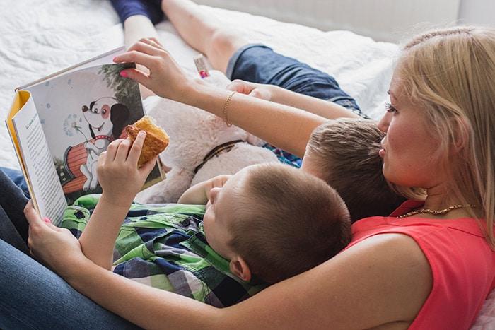 Temps de lecture parent enfant - Raconter ses histoire à l'enfant - éveiller son imagination - développer son vocabulaire